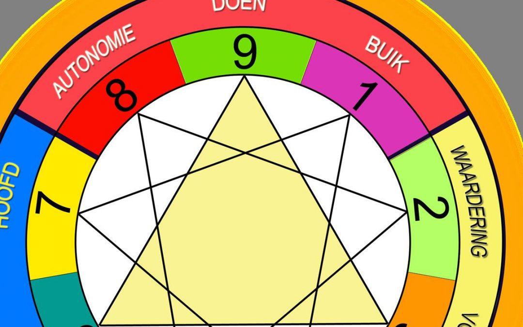 Tekstschrijven en de 9 brillen van het enneagram